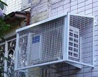 Установка защиты наружного блока