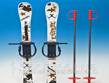 Комплект лыж пластиковые 90 см.