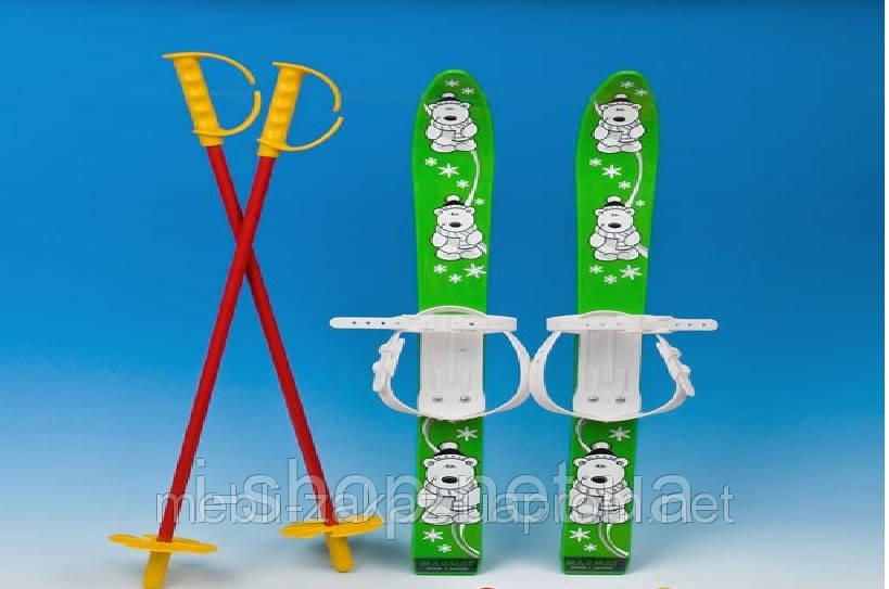 Комплект лыж пластиковые 70 см.