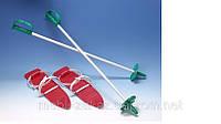 Комплект лыж пластиковые 40 см.