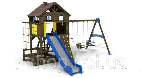 "Дитячий комплекс ""Дача"", висота гірки 1,8 м., фото 2"