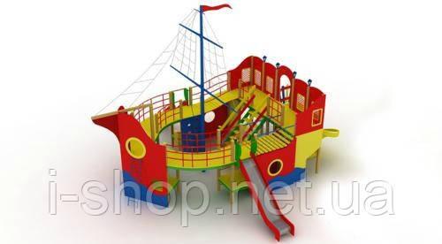 """Детский комплекс """"Пираты"""", высота горок 1,5 м."""