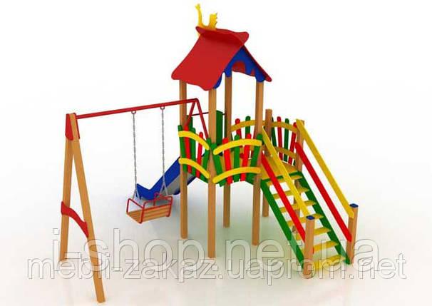 """Детский комплекс """"Праздник"""", высота горки 1,5 м, фото 2"""