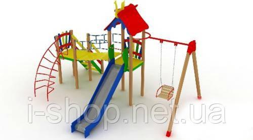 """Детский комплекс """"Верблюжонок"""", высота горки 1,2 м."""