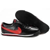Мужские кроссовки Nike Cortez Leather черно-красные