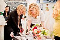 """Работа с посетителями на выставке """"Свадьба и выпускной бал 2013"""""""
