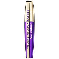 L`Oreal Volume Million Lashes So Couture - L`Oreal Тушь для ресниц придающая объем Лореаль Миллион Ресниц Фиолетовая (лучшая цена на оригинал в
