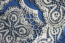 Ткань Кружево Шарм (Голубой)