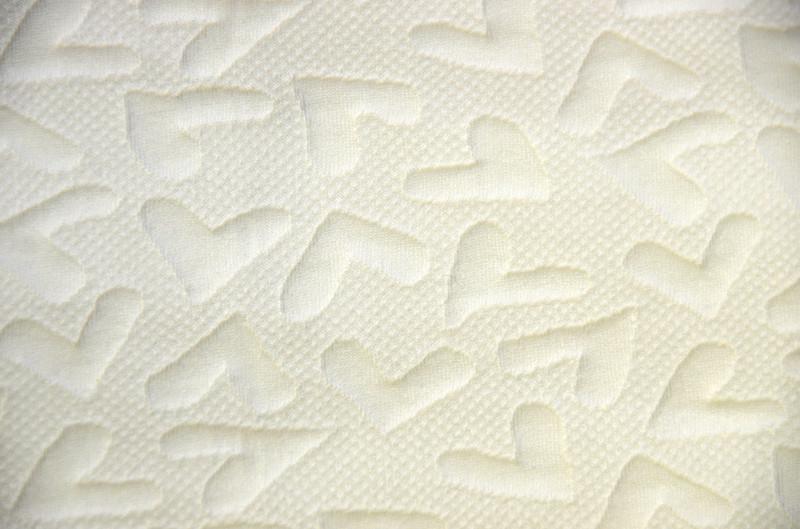 Ткань трикотаж 3D (Цвет Белый)