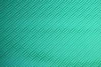 Ткань трикотаж Ромб (Цвет Зеленый)