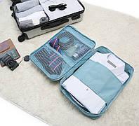 Дорожный органайзер для рубашек или блуз Monopoly travel голубой - ОПТ