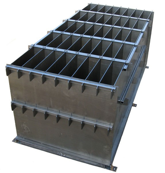 Металлические формы для бетонных блоков