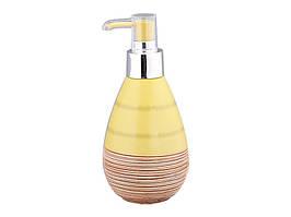 Диспенсер для жидкого мыла керамический Бразилия 300 мл 755-052