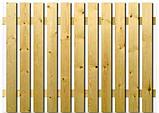 Штакетник деревянный садовый высотой 40 см, фото 3