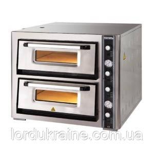 Печь для пиццы 2-х ярусная SGS РО 6262DE (4+4 пиццы)