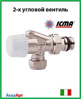 Icma 2-х угловой термостатический вентиль Арт. 766