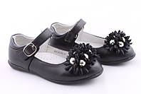 Туфлі лодочки з квіточками B&G для дівчаток