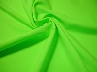 Термоткань ярко-салатовая fluo (бифлекс с начесом)
