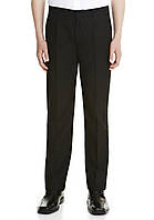 Черные брюки F&F школьнику plus fit, 5-6 лет