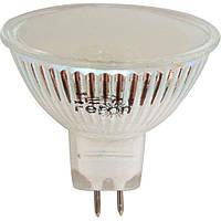 Светодиодная лампа LB-24 MR16 G5.3 230V 3W 44LEDS 240Lm  матовая
