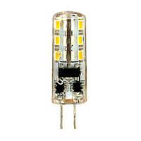 Светодиодная лампа LB-420  AC/DC12V 2W 24leds G4 4000K 160lm