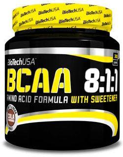 BCAA - Лейцин, Изолейцин, Валин Biotech BCAA 8:1:1 300 g