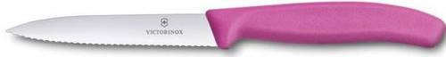 Отличный кухонный нож для нарезки фруктов и овощей Victorinox SwissClassic 67736.L5 розовый