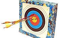 Мишень для стрельбы из лука 1м*1м,толщина 100мм,доставка по Украине