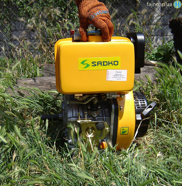 Дизельный двигатель Sadko DE-410 фото 5