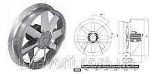 Сушильный вентилятор 600/SU/8-8/50/400L