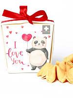 Печенька с валентинкой Я тебя люблю