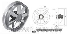 Сушильный вентилятор 700/SU/12-12/50/400L