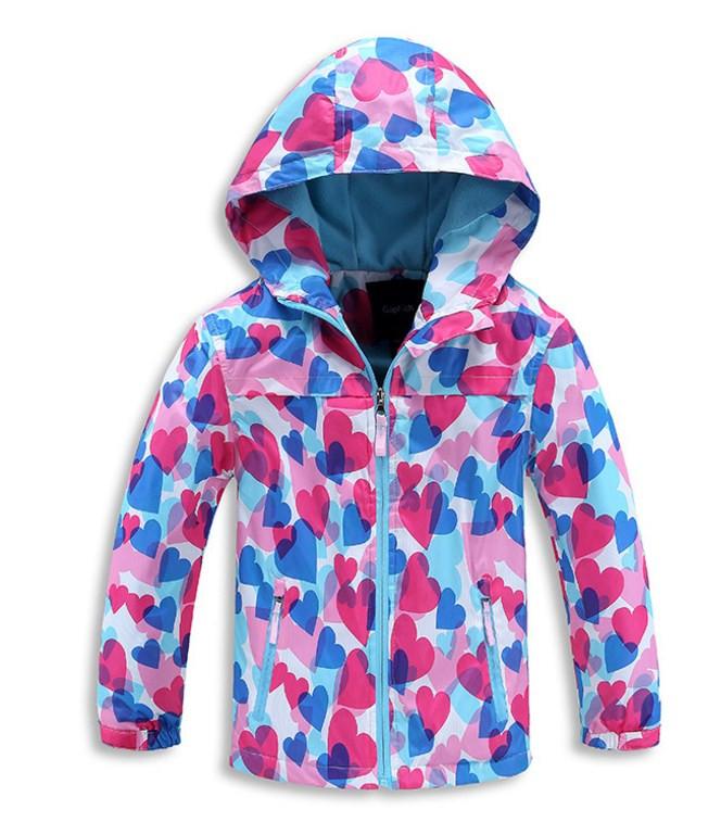 Детская куртка ветровка для девочки GAP