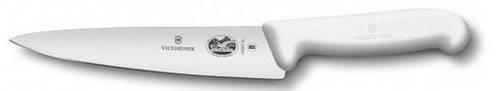 Кухонный нож для нарезки мяса и рыбы Victorinox Fibrox 52007.15 белый