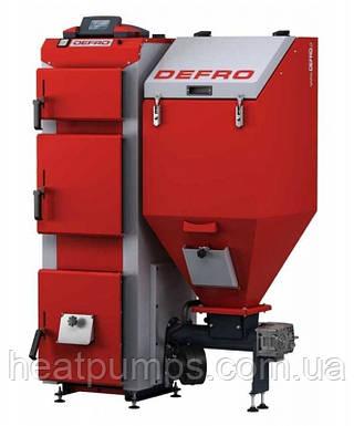 Котел твердотопливный Defro Duo 75 kW
