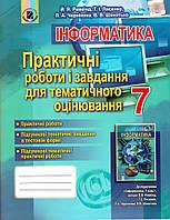 Інформатика 7 кл. ПРАКТИЧНІ РОБОТИ І ЗАВДАННЯ для ТЕМАТИЧНОГО ОЦІНЮВАННЯ