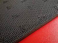 Резина набоечная GTO Italia  (Китай), р. 500*500*6.4мм, цв. чёрный