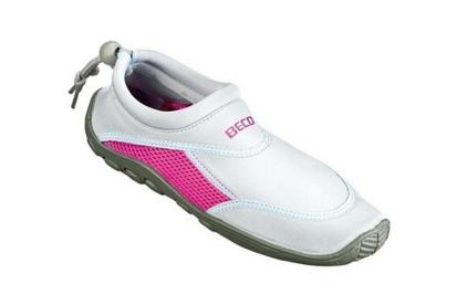 Тапочки для плавания и серфинга BECO серый/розовый 9217 114, фото 2