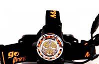 Фонарь налобный Magicshine MJ-886 (3xSSC Z5, 550 люмен, 3 режима, 2x18650)