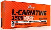L-carnitine 1500 Extreme Mega Caps Olimp, 120 капсул