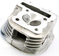 Головка цилиндра 4T ARN 125/150 (для двигателей 153QMI/158QMJ, голая с клапанами) KOMATCU