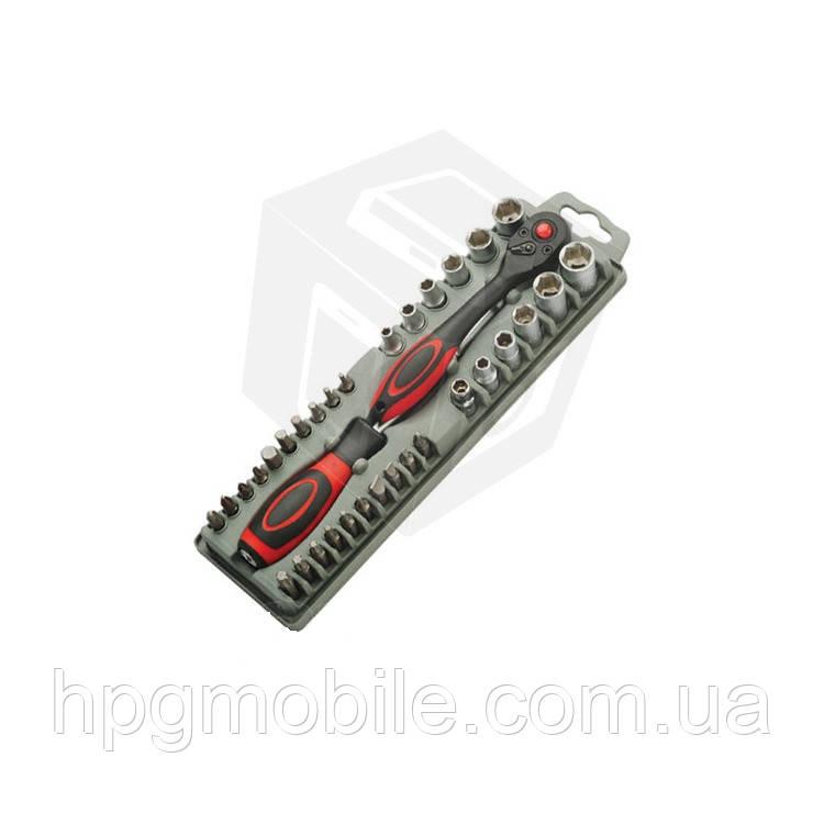 Набор бит с трещеточным механизмом Pro'sKit SD-2307M