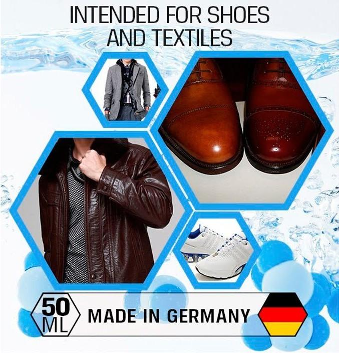 Гидрофобное средство для защиты обуви и одежды AquaStop