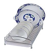 Настольная сушка для посуды LF-368 хром 425х190х105