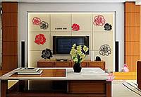 Акриловый декор Розы (набор)