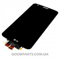 Дисплей с тачскрином для LG G2 D800, G2 D801, G2 D803, LS980, VS980 черный (Оригинал)