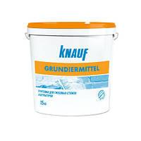 KNAUF Грунт ГРУНДИРМИТТЕЛЬ 15 кг (концентрат)