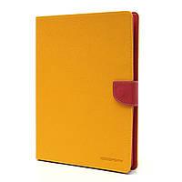 Чехол (книжка) Mercury Fancy Diary series для Apple iPad 2/3/4 Желтый, фото 1