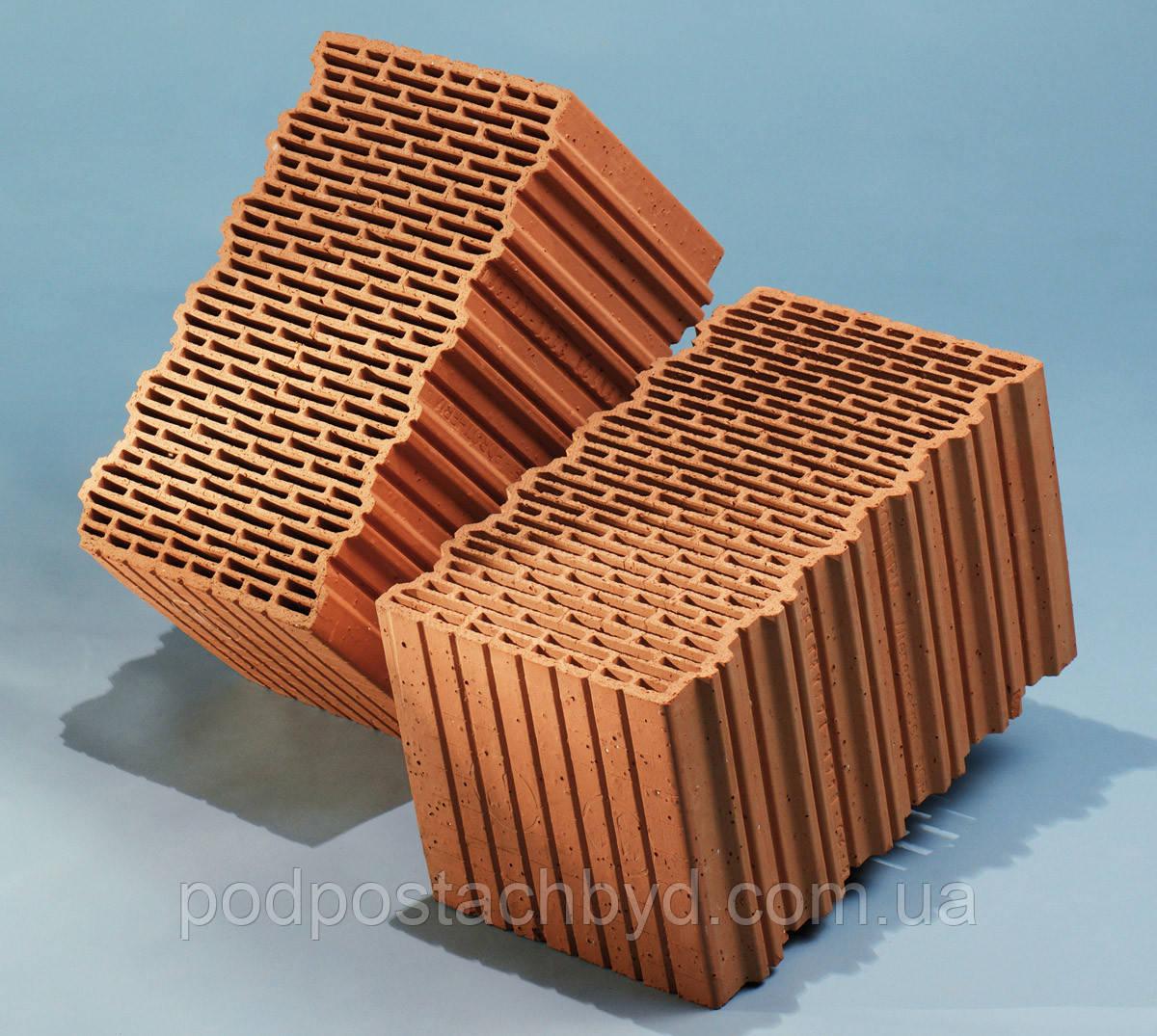 Керамічні блоки Porotherm 44 EKO+