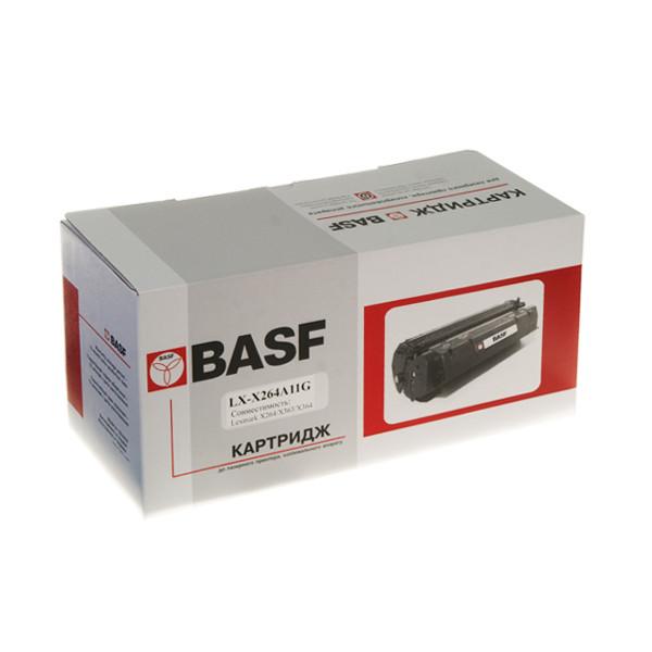 Картридж неоригинальный тонерный BASF для Lexmark X264/X363/X364 аналог X264A11G (WWMID-80668)